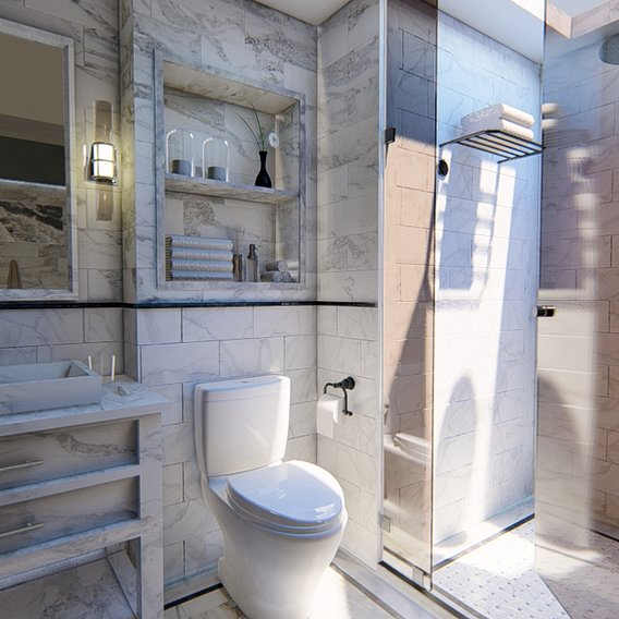 Modern Bathroom 3
