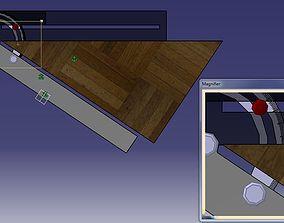 Inclination measuring instrument 3D model