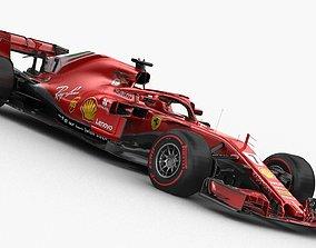 3D model F1 Ferrari SF71H 2018