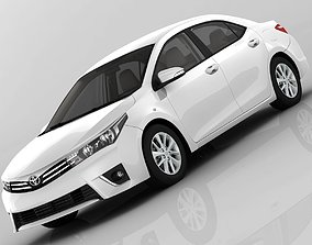 Toyota Corolla E170 Active 2014 detailed 3D