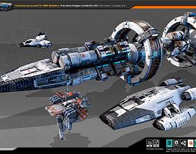 3D asset Colony Fleet