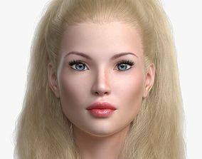 3D model Blond Princess Angie