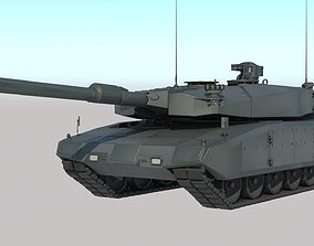 3D Leopard 2 MBT revolution VRay PBR