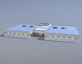 Airport Terminal URSS Terminal New VIP 3D model