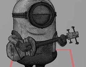 film MINION PLAYING GUITAR 3D PRINT FILE