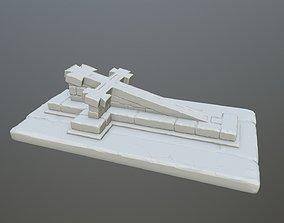 3D printable model tombstone 13