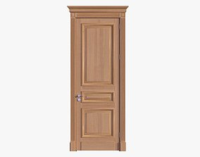 Door classic 01 3D model