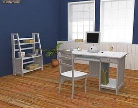 Home WorkPlace Set 1 3D asset