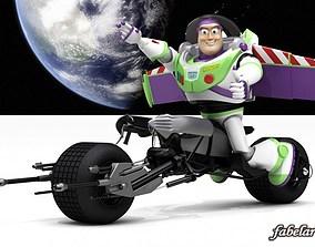 3D Buzz batpod edition