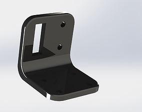 design 3D print model Bracket L Shaped