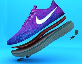 3D Nike Free Distance