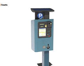 Parking Meter 3D asset PBR