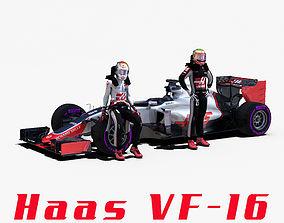 3D asset Haas VF16