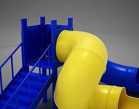 HD Playground Slide 3D