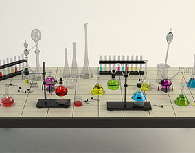 3D model Equipment Chemistry Laboratory