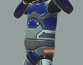 Iron Robot 3D model