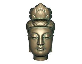 Buddha head 3D printable model