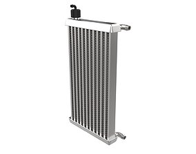 3D printable model GoKart Radiator Intercooler