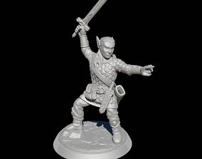 High Elf RPG Table top 3D print model