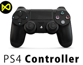 3D model Sony PlayStation PS4 PRO Controller