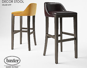 3D Baxter DECOR STOOL