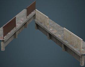 3D asset Industrial Platform 2B