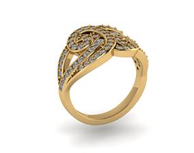 modern design jewelry Ring model