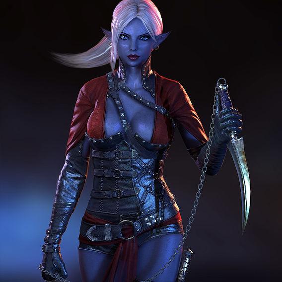The Dark Elf Assassin