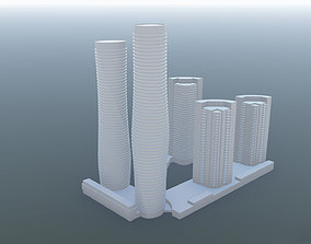 Mississauga City Centre - Absolute 3D model