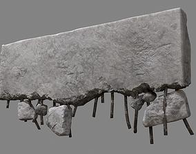 3D model Concrete Debris 08 v2