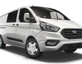 Ford Transit Custom L2H1 Trend DCIV UK spec 2020 3D