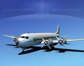 3D Douglas DC-7C Corporate 2