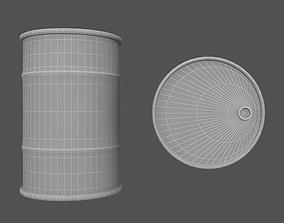 Barrel v1 3D asset