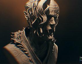 Vampire bust - 3D model