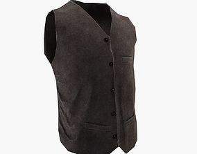Vest clothing 3D asset