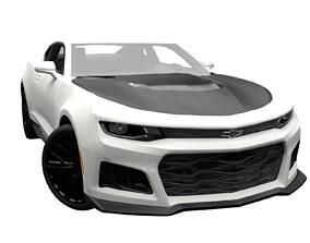 Chevrolet Camaro ZL1 2017 3D asset