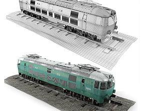 logistic 3D model Pafawag 201E ET 22 Electric Train