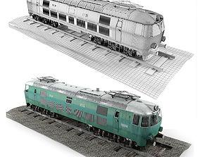 3D model Pafawag 201E ET 22 Electric Train