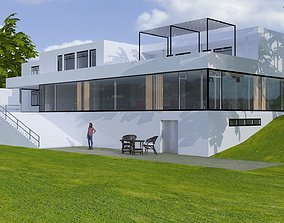 3D Casa Tugendhat villa architect
