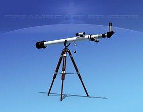 3D Refractor Telescope