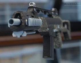Assault Deutsche Military Rifle G36C GAME-READY 3D asset