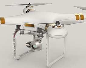 QuadroCopter High Detailed HIgh-Poly 3D copter