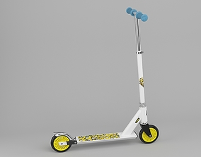 3D Childrens scooter