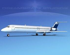 Douglas DC-9-50 Executive 1 3D
