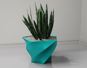plant pot holder 97 3D print model