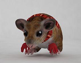 Mouse 3D asset