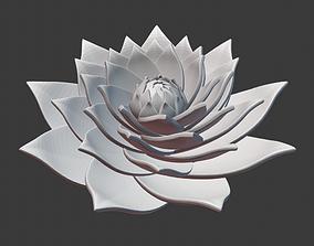 printable Lotus spiral 3D printable model