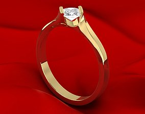 Unique Princess Ring 3D printable model