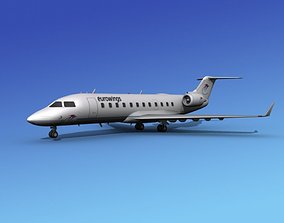 Canadair CRJ200 Eurowings 3D model