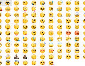 Emoji huge pack collection 59 3D model
